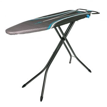 Ergo® Bügelbrett in Blau - 122 x 38 cm